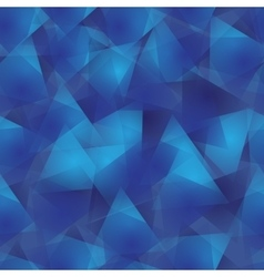 triangle seamless pattern background vector image vector image