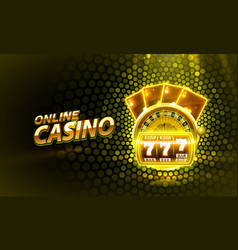 Casino 3d cover slot machines and roulette vector