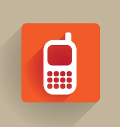 celphone vector image vector image
