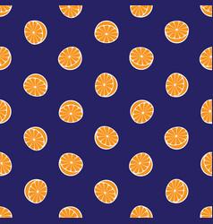 citrus pattern vector image