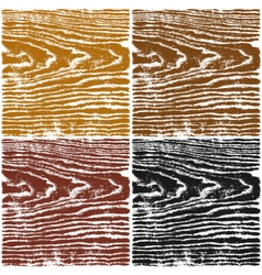 Color wood texture on white background vector