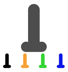 Dildo icon vector