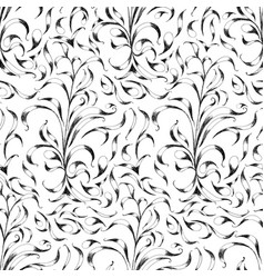 floral pattern flower seamless background vector image