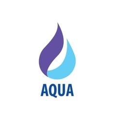 logo water vector image