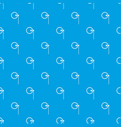 Monocle pattern seamless blue vector