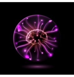 Power brain vector image