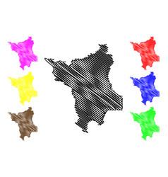 Roraima map vector
