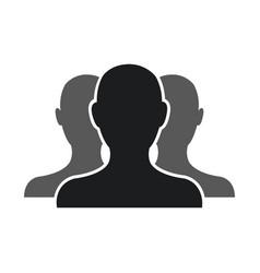 people community network team web pictogram vector image