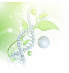 Organic science vector