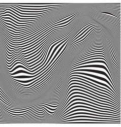 abstract seamless ripple pattern repeating vector image