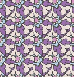 Bright purple hand drawn seamless pattern vector