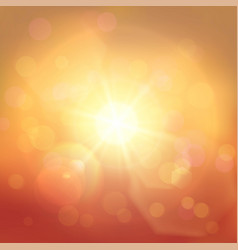 golden and red abstract background vector image
