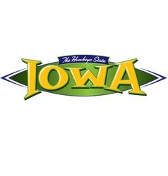 Iowa the hawkeye state vector