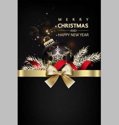christmas social media pomotepromotion post vector image