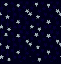 Star line seamless pattern vector