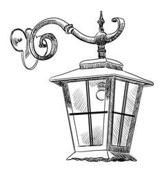 Street lantern-2 vector
