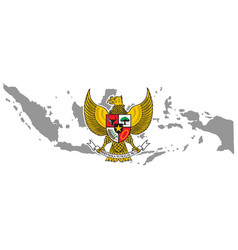 symbol indonesian icon national logo vector image