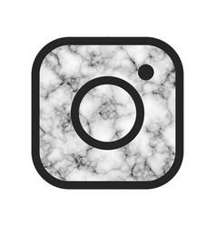 Hipster camera photo button vector