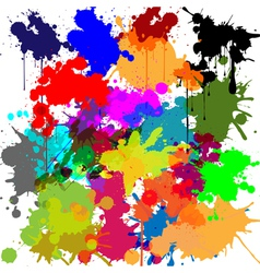 Ink as a background vector image vector image