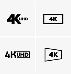 4k labels vector