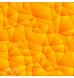 abstract orange pattern on a light background vector image