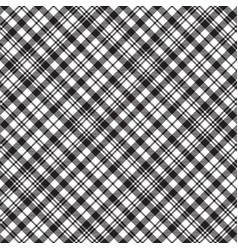 Black watch tartan check plaid seamless pattern vector