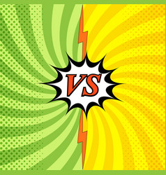 Colorful confrontation light background vector