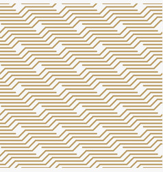 Geometric seamless pattern with line modern vector