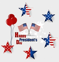 Happy Presidents Day Presidents day banner design vector image