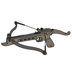 Modern sand sport crossbow vector