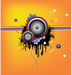 music wallpaper vector image