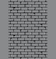 Old grey wall background vector