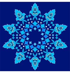 Ottoman motifs design series with forty two vector image