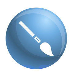 pencil brush icon simple style vector image