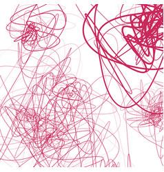 Random sketchy lines abstract monochrome vector