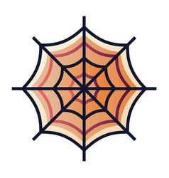 Spider web gradient vector