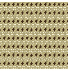 seamless chain pattern vector image vector image