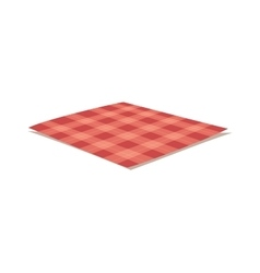 Tablecloth vector image