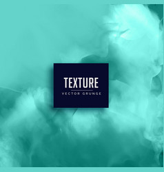 stylish aqua color watercolor texture background vector image vector image
