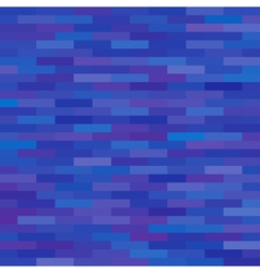 Blue brick background vector