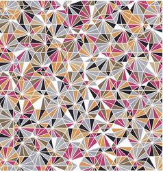 funky geo hexagon barnacle underwater sealife tile vector image