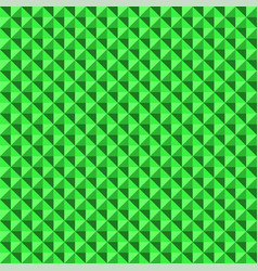 green 3d structure abstract 80s seamless pattern vector image