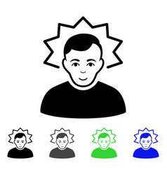 Inventor flat icon vector