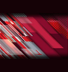 metal red background vector image