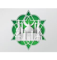 Paper Mosque vector