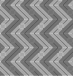 Shades of gray Z shapes light and dark vector