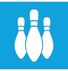 Three skittles icon simple vector