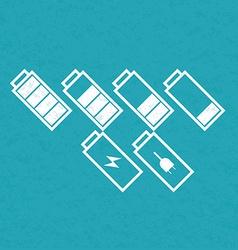 BatteriesSetVarY vector image vector image