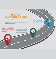 Street road map on checkered background business vector