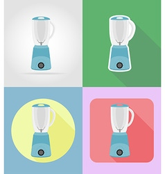 household appliances for kitchen 08 vector image vector image